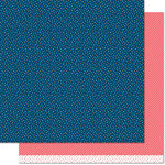 Lawn Fawn - Pint-sized Patterns Beachside Collection - 12 x 12 Double Sided Paper - High Seas