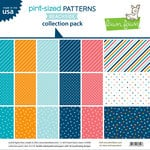 Lawn Fawn - Pint-sized Patterns Beachside Collection - 12 x 12 Collection Pack