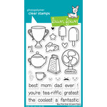 Lawn Fawn - Clear Acrylic Stamps - Best Pun Ever