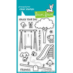Lawn Fawn - Clear Acrylic Stamps - Let's Play