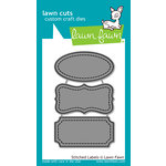Lawn Fawn - Lawn Cuts - Dies - Stitched Labels