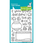 Lawn Fawn - Clear Acrylic Stamps - Fintastic Friends