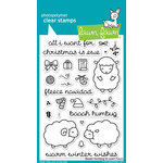 Lawn Fawn - Clear Acrylic Stamps - Baaah Humbug