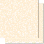 Lawn Fawn - Lets Bokeh in the Snow Collection - 12 x 12 Double Sided Paper - Snowflake Bokeh