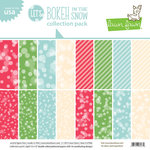 Lawn Fawn - Lets Bokeh in the Snow Collection - 12 x 12 Collection Pack