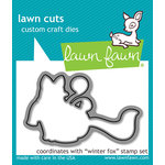 Lawn Fawn - Lawn Cuts - Dies - Winter Fox