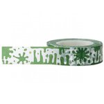 Little B - Decorative Paper Tape - Halloween - Green Slime - 15mm