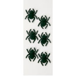 Little B - 3 Dimensional Stickers - Halloween - Creepy Spiders - Mini