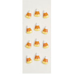 Little B - 3 Dimensional Stickers - Halloween - Candy Corns - Mini