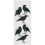 Little B - 3 Dimensional Stickers - Crows - Mini
