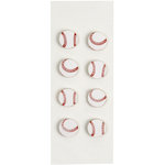 Little B - 3 Dimensional Stickers - Baseball - Mini