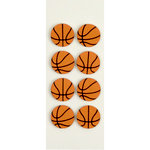 Little B - 3 Dimensional Stickers - Basketball - Mini