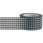 Little B - Decorative Paper Tape - Houndstooth - 25mm