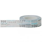 Little B - Decorative Paper Tape - Thank You Pattern - 15mm