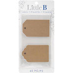 Little B - Decorative Self Adhesive Paper Labels - Classic Tag