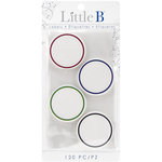 Little B - Decorative Self Adhesive Paper Labels - Colorful Circles
