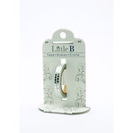 Little B - Decorative Paper Tape - Silver Foil Harlequin - 3mm
