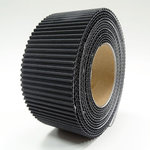 Little B - Corrugate Tape - Black - 40mm