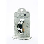 Little B - Decorative Paper Tape - Gray Foil Camouflage - 15mm