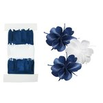 Little B - Pull Flowers - Pansies - Blue and White