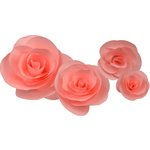 Little B - Paper Flower - Petal Kits - Pink Rose