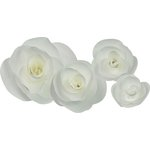 Little B - Paper Flower - Petal Kits - White Rose