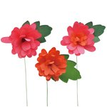 Little B - Paper Flower - Petal Strip Kits - Bright Mum