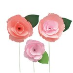 Little B - Paper Flower - Petal Strip Kits - Peony