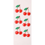 Little B - 3 Dimensional Stickers - Mini - Cherries