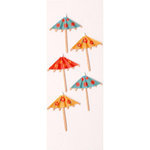 Little B - 3 Dimensional Stickers - Mini - Drink Umbrella