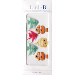 Little B - 3 Dimensional Stickers - Mini - Tropical Fish