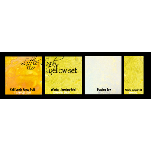 Lindy's Stamp Gang - Little Lindy - Try Me Set - Mist and Paint - Yellow