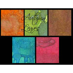 Lindy's Stamp Gang - Starburst Color Shot - Set - Autumn Leaves