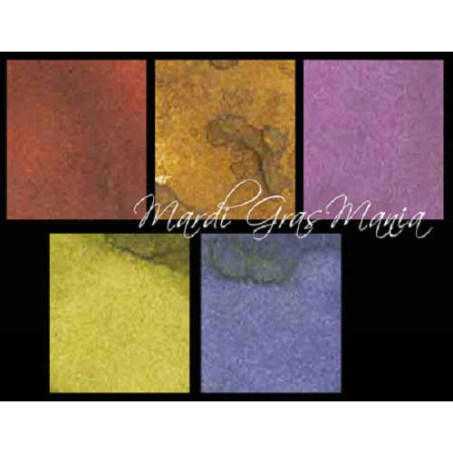 Lindy's Stamp Gang - Starburst Color Shot - Set - Mardi Gras Mania