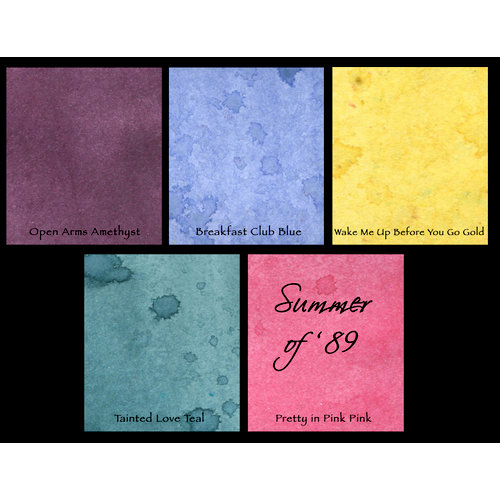 Lindy's Stamp Gang - Starburst Color Shot - Set - Summer of '89