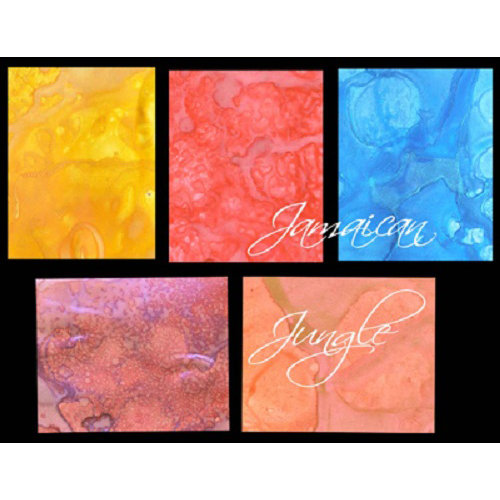 Lindy's Stamp Gang - Starburst Spray - Set - Jamaican Jungle