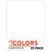 My Colors Cardstock - My Mind's Eye - 8.5 x 11 Classic Cardstock Pack - White