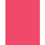 My Colors Cardstock - My Mind's Eye - 8.5 x 11 Heavyweight Cardstock - Watermelon Pink