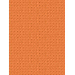 My Colors Cardstock - My Mind's Eye - 8.5 x 11 Mini Dots Cardstock - California Poppy