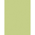 My Colors Cardstock - My Mind's Eye - 8.5 x 11 Mini Dots Cardstock - Waterside Fern