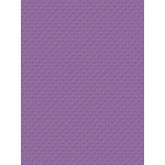 My Colors Cardstock - My Mind's Eye - 8.5 x 11 Mini Dots Cardstock - Grape Verbena
