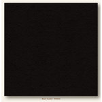 My Colors Cardstock - My Mind's Eye - 12 x 12 Heavyweight Cardstock - Black Suede