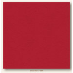My Colors Cardstock - My Mind's Eye - 12 x 12 Heavyweight Cardstock - Classic Cherry
