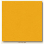 My Colors Cardstock - My Mind's Eye - 12 x 12 Heavyweight Cardstock - Lemon Sorbet