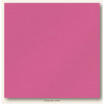 My Colors Cardstock - My Mind's Eye - 12 x 12 Glimmer Cardstock - Frosty Pink