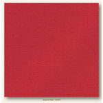 My Colors Cardstock - My Mind's Eye - 12 x 12 Glimmer Cardstock - Imperial Red