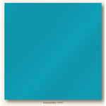 My Colors Cardstock - My Mind's Eye - 12 x 12 Glimmer Cardstock - B'dazzled Blue