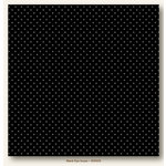 My Colors Cardstock - My Mind's Eye - 12 x 12 Mini Dots Cardstock - Black Eyed Susan