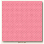 My Colors Cardstock - My Mind's Eye - 12 x 12 Mini Dots Cardstock - Pink Carnation