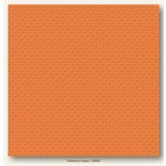 My Colors Cardstock - My Mind's Eye - 12 x 12 Mini Dots Cardstock - California Poppy